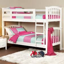 Modern Kids Bedroom Interior Decorating Design Ideas With Aspace Bunk Beds  : Captivating Pink Sheet White