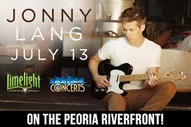 Bud Light Concert Series 2017 Peoria Il Jonny Lang Tickets Peoria Riverfront Festival Park