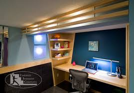 home office in basement. Fine Home Basement Home Office Ideas Enchanting Idea Of Good Color Schemes Great1 Throughout In F