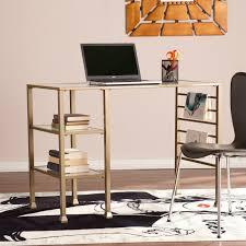 Zipcode Design Writing Desk Zipcode Design Raquel Glass Desk Glass Desk Minimalist