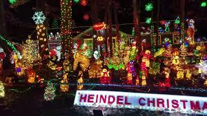 Heindel Christmas Lights Raleigh Nc Youtube