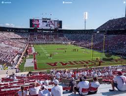 Gaylord Family Oklahoma Memorial Stadium Section 20 Seat