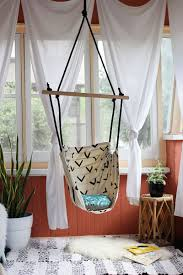 hanging chairs for bedrooms. Handmade Hammock Chair Reading Indoor DIY Hanging Chairs For Bedrooms