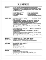 Successful Resumes Examples Of Successful Resumes Examples Effective Resumes Examples 9