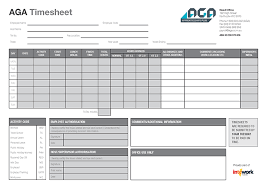 Timesheet Or Timesheet Timesheet For Apprentices Trainees Aga Part Of The Intowork Group
