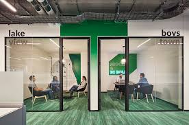 glass door for office. Reception Glassdoor Cafe Open Office Collaborative Space Conference Room Logo Art Rooms Glass Door For