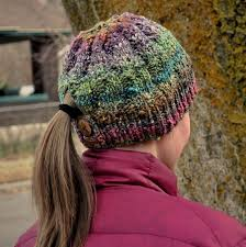 Ponytail Hat Knitting Pattern Beauteous Knitting Pattern Japanese Dream Hat Baste Gather
