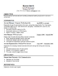 This resume template has the titles left justified with the name and  contact information center justified at the top of the page.