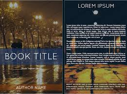book cover template free dot