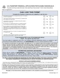 Passport Renewal Application Form New Travel State Gov Forms Us Passport Renewal Form Inspirational How To