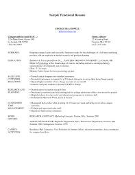 Example Of A Functional Resume Filename Joele Barb