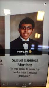 Best High School Senior Quotes Magnificent Senior Who Came Out With Yearbook Quote Almost Had His Words Banned
