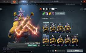 cosmetic eternal radiance blade alchemist immortal not showing