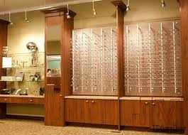 eyeglass display rods