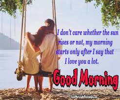175 most romantic good morning couple