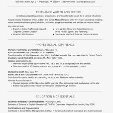 Resume Content Example Freelance Resume And Cover Letter Examples And Tips