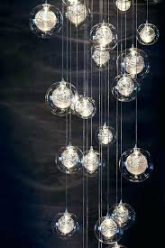 blown glass pendant lights hand chandelier lighting pendants s clear blown glass pendant lights