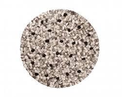 round rugs black white colours