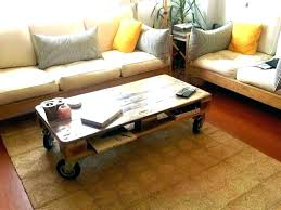 round coffee table with casters wheels lack caster diy