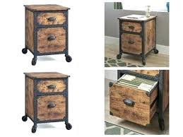 wood office cabinet. Rustic Wood File Cabinets Home Office Filing 2 Drawer  Cabinet Industrial .
