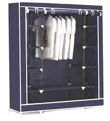 clothing storage armoire clothing extreme clothing at clothe triple canvas clothes hanging rail with storage closet