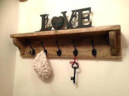 wall coat rack with shelves hanger shelf hung hat key and for ikea wall coat racks