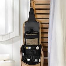 personalized hanging travel toiletry kit