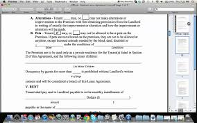 How To Fill Out A Residential Lease Agreement - Youtube
