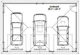 100  Three Car Garage Size   Makeover Three Car Garage 4 Car Garage Size