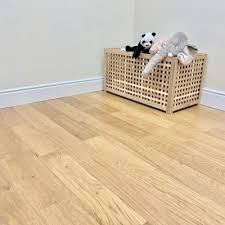 150mm pearl satin lacquered engineered european oak wood flooring 14 3mm thick