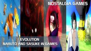 NARUTO AND SASUKE FINAL JUTSU - EVOLUTION IN GAMES -PS2 - NOSTALGIA GAMES -  HD