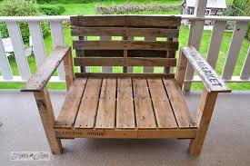 wood patio furniture. Marvelous Wood Patio Chairs With Pallet Chair Build Part 2 Funky Junk Interiorsfunky Furniture