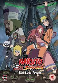 Naruto - Shippuden: The Movie 4 - The Lost Tower [DVD] [UK Import]:  Amazon.de: Junko Takeuchi, Toshiyuki Morikawa, Chie Nakamura, Kenji Hamada,  Masahiko Murata, Junko Takeuchi, Toshiyuki Morikawa: DVD & Blu-ray