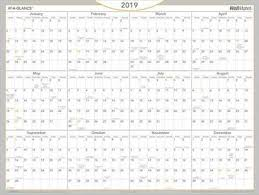 At A Glance Yearly Calendars At A Glance Wallmates Dry Erase Yearly Calendar Yearly