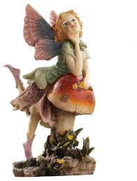 garden fairy statues. Classy Pixie Garden Fairy Sculpture Traditional Statues
