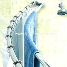 Dual Shower Curtain Rods Contemporary Double Shower Curtain Rod