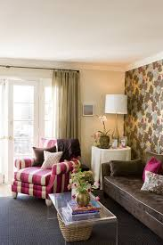 single cushion sofa family room transitional with accent wall area rug accent lighting family room