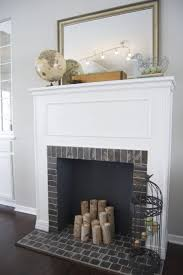 building a removable faux fireplace for under 100 how to build a faux fireplace