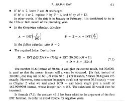 Julian Day And Gregorian Calendar Programmer Sought