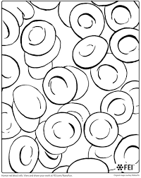 Small Picture Blood Cell Coloring Pages