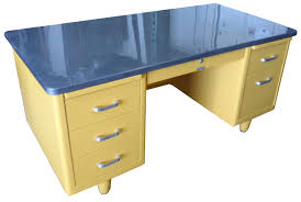 vintage metal office desk. retro office vintage american steel furniture specializes in desks and steelcase tanker metal desk i