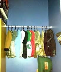 hat hanger diy hanging hat organizer rack for closet top ideas in nice home decoration winter