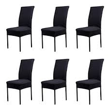cosyvie super fit universal stretch dining chair covers removable washable slipcovers for dining room chairs