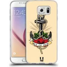 Pouzdro Head Case Samsung Galaxy S6 Tetování Kotva