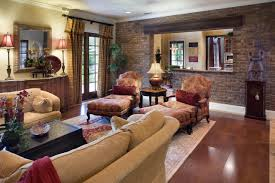 casual french country living rooms brick living room furniture