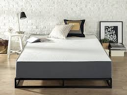 Zinus Responsive Memory Foam 10 Inch  Firm  Universal Comfort Support  Mattress Queen