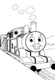 Kids Thomas The Train Coloring Pages Toby Cartoon Coloring Pages