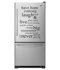 Refrigerator Stickers Have Hope Quote Words Removable Wall Fridge Sticker Decal Dw005