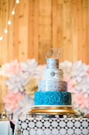 Amy Beck Cake Design Blue Toile And Ruffle Wedding Cake Amy Beck Cake Design