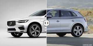 2018 volvo images. wonderful volvo 2018 volvo xc60 vs audi q5  front three quarter intended volvo images